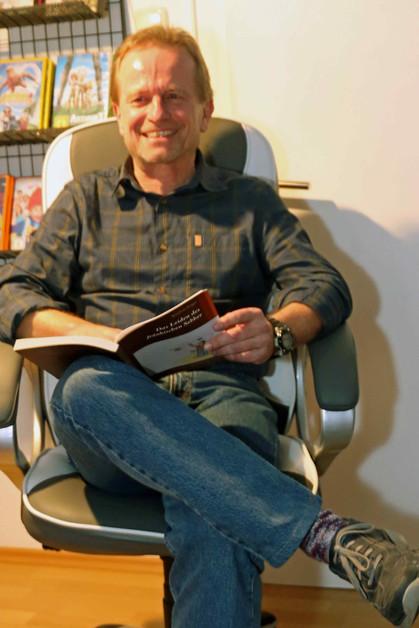 Unser Autor Joachim Engel liest aus dem Leben des fränkischen 'Sebber'