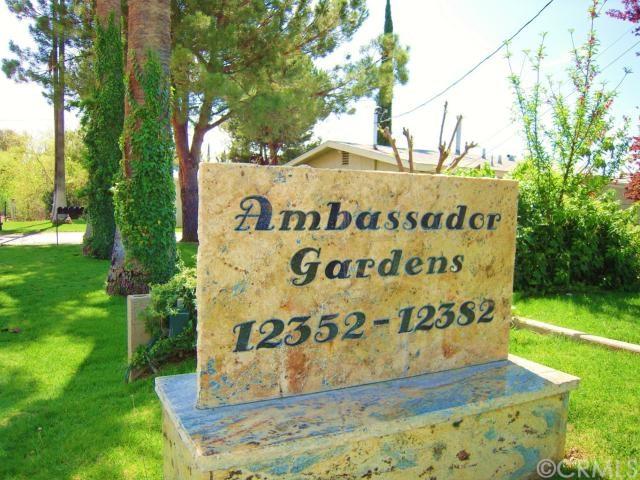1.  Ambassador Gardens Sign
