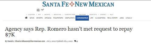 Romero hasn't met request.jpg