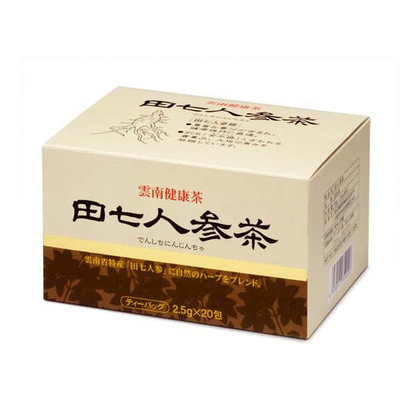 田辺製薬 田七人参茶