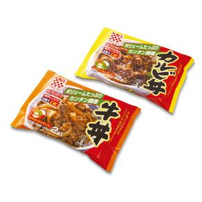 ケイエス食品 カルビ丼・牛丼