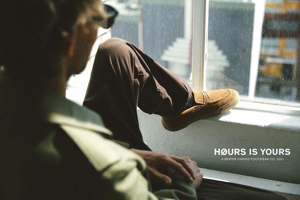 HOURS IS YOURS FOOTWEAR Bryan Herman Dennis Martin Skateboarding