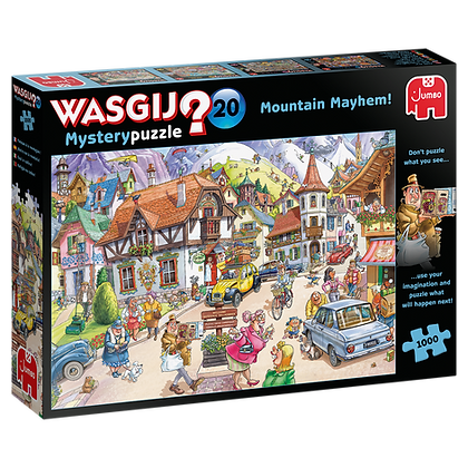 Wasgij Mystery 20 Mountain Mayhem