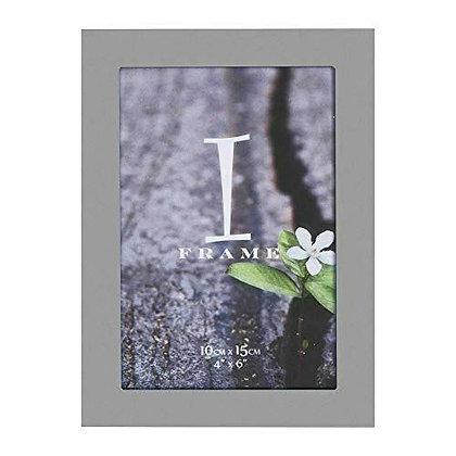"4""x6"" iFrame Aluminium Grey Photo Frame"