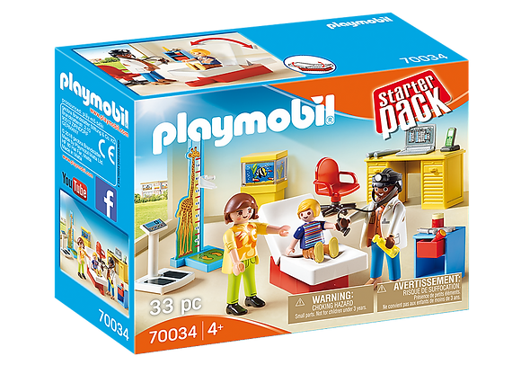 Playmobil 70034 Starter Pack Paediatrician's Office