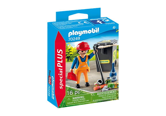 Playmobil 70249 Special Cleaner