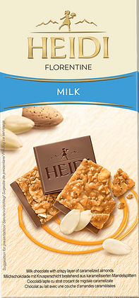 Heidi Chocolate Bar Milk Florentine 100g