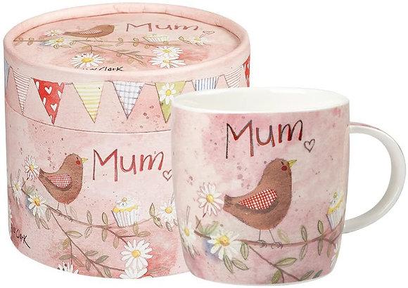 Alex Clark 'Mum' Mug in Gift Box