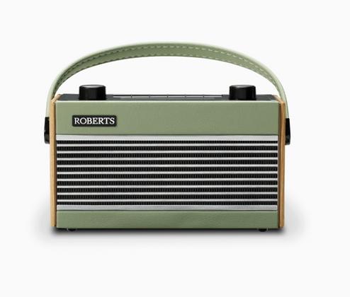 Roberts Rambler DAB Radio - Leaf Green