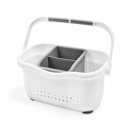 Sink Caddy White/Grey