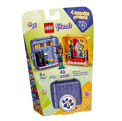 Lego Friends Andreas Shopping Playcube 41405