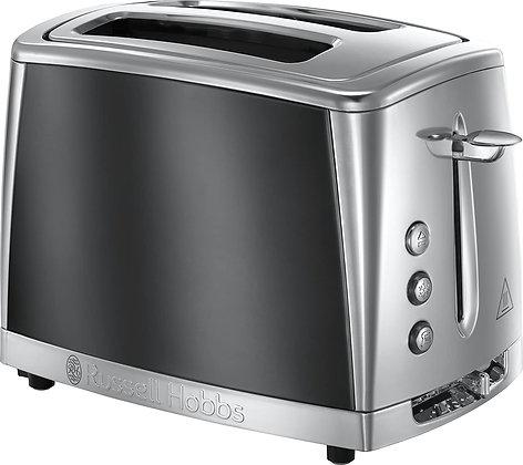 "Russell Hobbs ""Luna"" 2 Slice Grey Toaster"