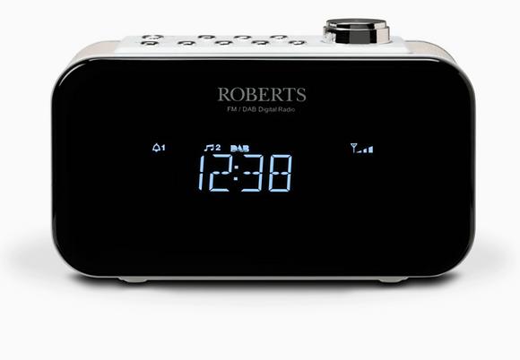 Roberts Ortus2 White FM/DAB+ Clock Radio