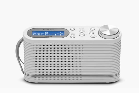 Roberts Play10 White Dab Radio