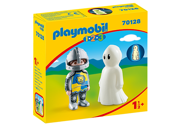 Playmobil 70128 1.2.3 Knight with Ghost
