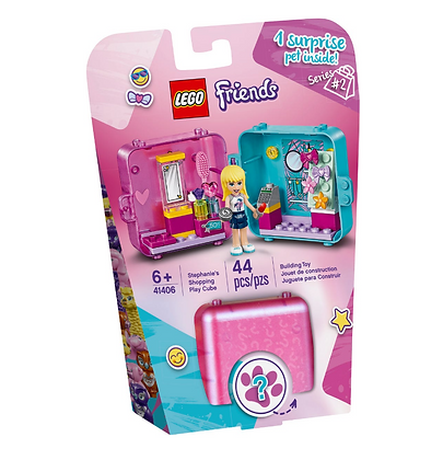 Lego Friends Stephanies Shopping Playcube 41406