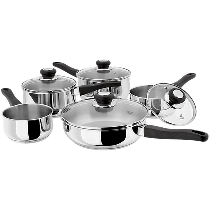 Judge Vista Draning Saucepan Set 5pc