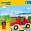 Thumbnail: Playmobil 6967 1.2.3 Ladder Unit Fire Truck