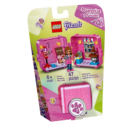 Lego Friends Olivias Shopping Playcube 41407