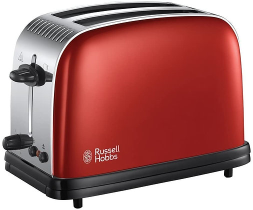 Russell Hobbs Red 2 Slice Toaster