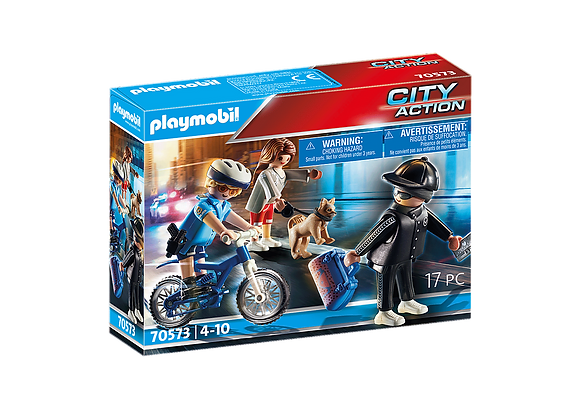 Playmobil 70573 Police Bike & Thief