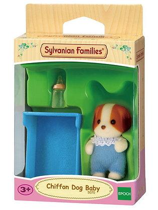 Sylvanian Chiffon Dog Baby