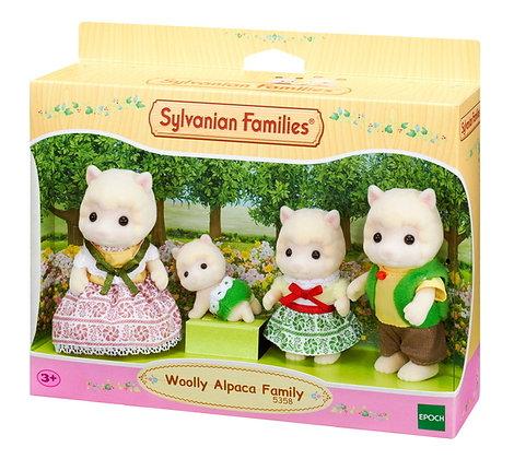 Sylvanian Family Woolly Alpaca Family