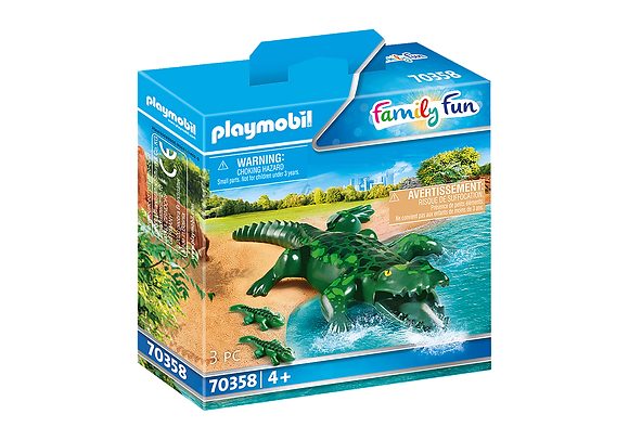 Playmobil 70358 Alligator & Babies
