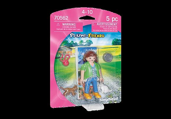 Playmobil 70562 Girl & Kittens