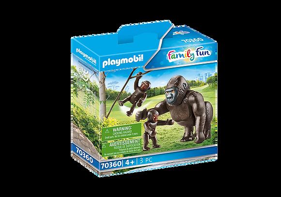 Playmobil 70360 Gorilla & Babies
