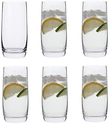 Dartington Everyday Glassware - 6 Highballs