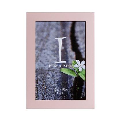 "4""x6"" iFrame Aluminium Pink Photo Frame"
