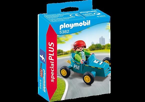 Playmobil 5382 Special Plus Boy with Go-Kart