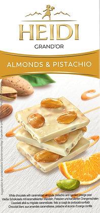 Heidi Chocolate Bar Almonds & Pistachio 100g