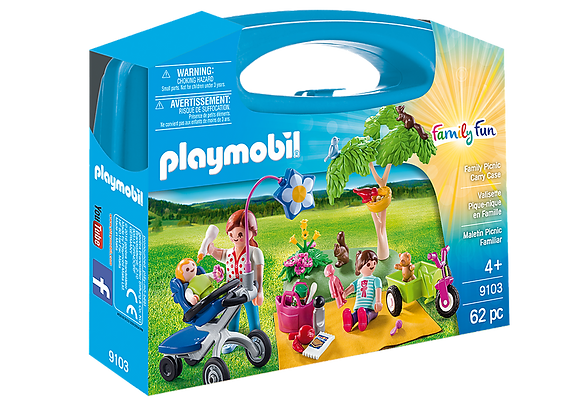 Playmobil 9103 Family Fun Large Family Picnic Carry Case