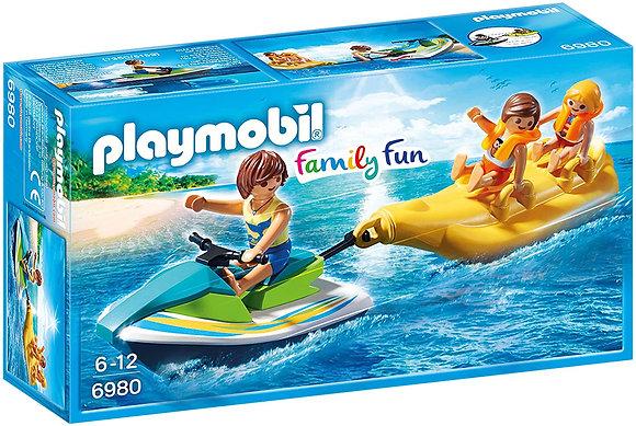 Playmobil 6980 Family Fun Personal Watercraft With Banana Boat