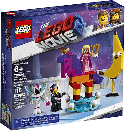 Lego Movie 2 Introducing Queen Watevra WaNabi