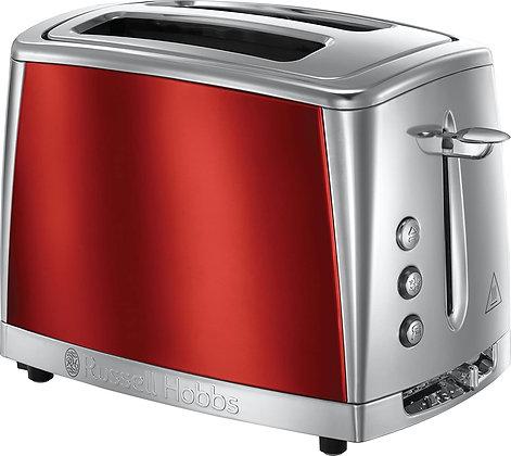"Russell Hobbs ""Luna"" 2 Slice Red Toaster"