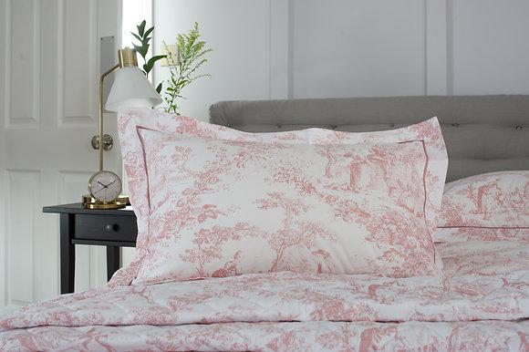 The Lyndon Company 'Toile De Jouy' Pink Pillow Case Pair