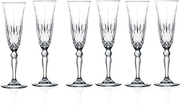 RCR Melodia Champagne Flutes (6)
