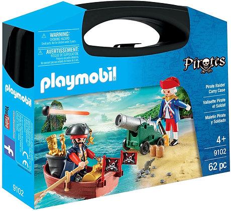 Playmobil 9102 Large Pirates Treasure Raider Carry Case