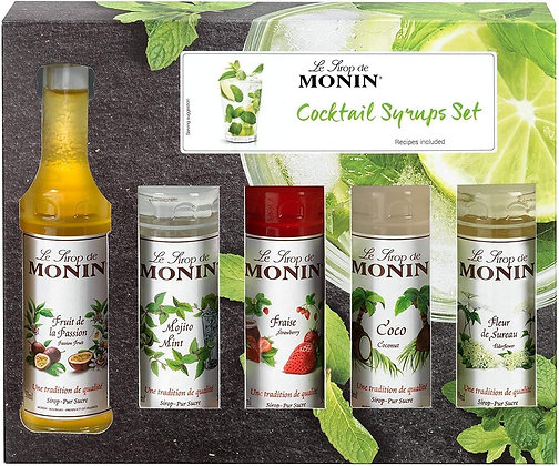 Monin Syrups - Cocktail Gift Set 5x5cl