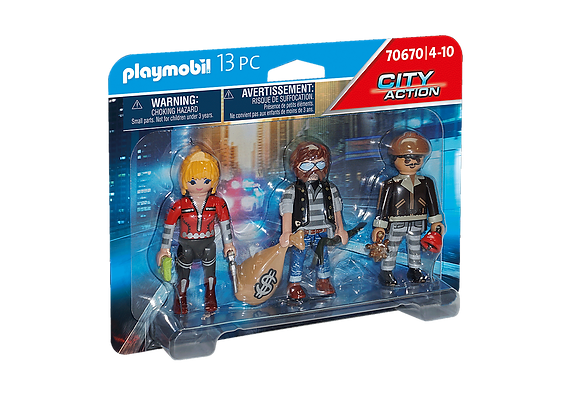 Playmobil 70670 Police Thief Set