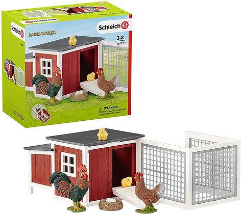 Schleich Chicken Coop 42421