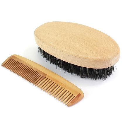Military Hairbrush Set