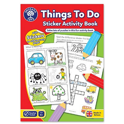 Orchard Things to Do Activity Book (CB06)