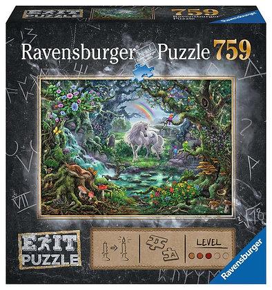 Escape Puzzle 759pc Unicorn