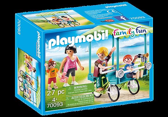 Playmobil 70093 Family Fun Family Bicycle