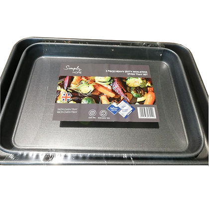 Simply Home 2pc Oven Tray Set