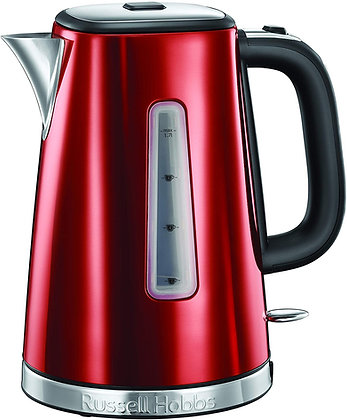 "Russell Hobbs 23210 ""Luna"" Red Kettle"